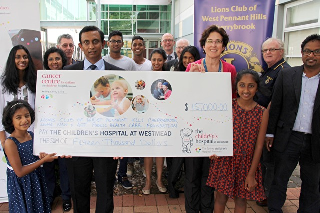 Westmead Donation