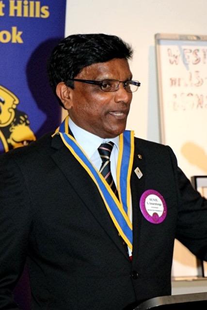 55 Changeover 27-6-16 Pres Sunil Amaratunga